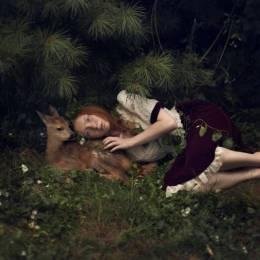 Katerina Plotnikova 童话镇 小鹿斑比