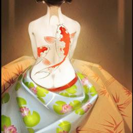 Alexandra Khitrova  细腻的个人手绘插画欣赏