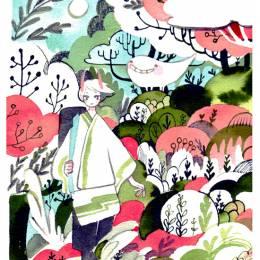 koyamori 清水可爱的手绘漫画欣赏