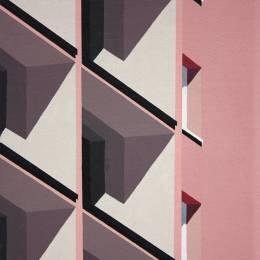 Roos van Dijk 几何建筑插画欣赏
