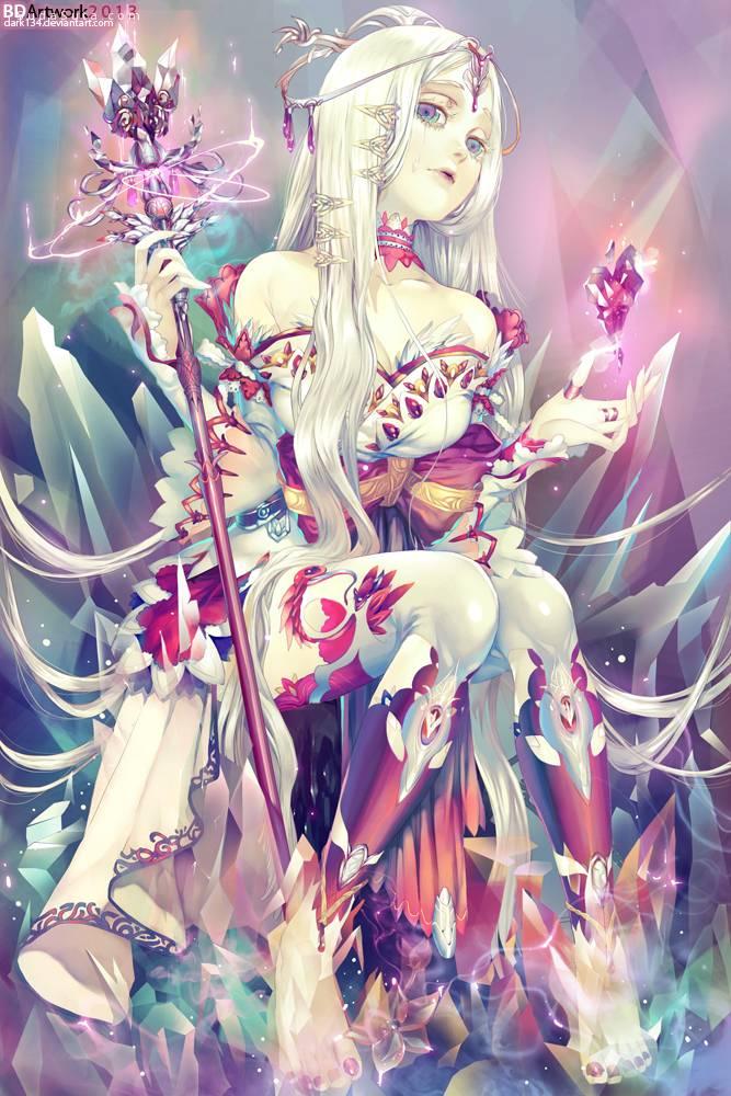 Dark134 中国风手绘水彩插画欣赏
