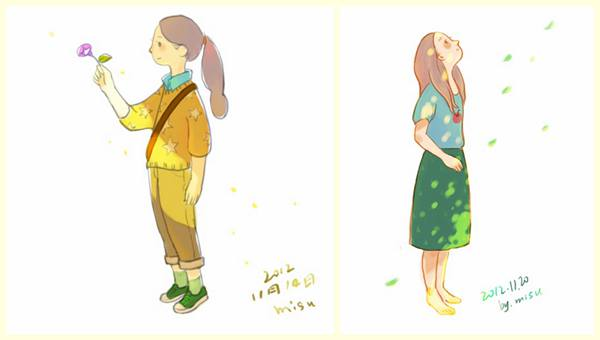 Misu想画点小情绪