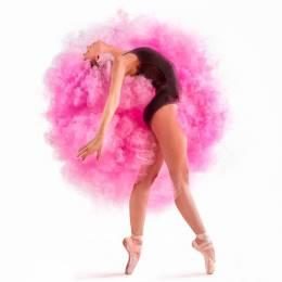 Tim Tadder 色彩云朵与舞者 创意摄影欣赏