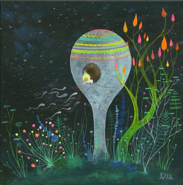 Aaron Piland和Ayumi Kajikawa天境的花园插画欣赏