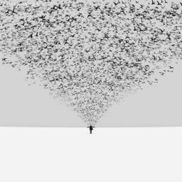 Hossein Zar 孤独的超现实主义艺术作品