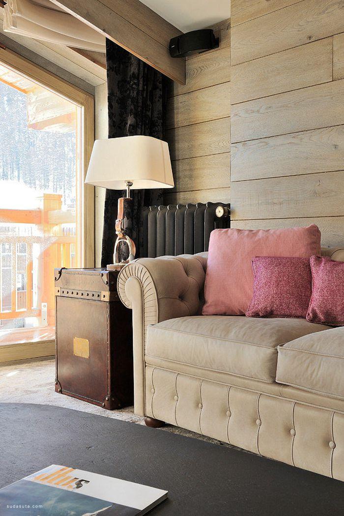 Jorge Grasso 温馨的复式公寓设计欣赏