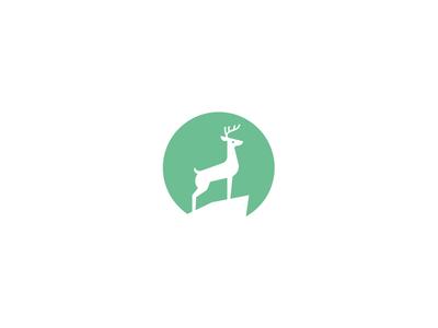 创意LOGO设计欣赏 优雅的鹿角