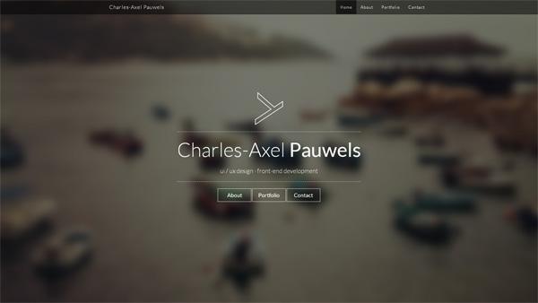极简主义创意网页设计欣赏