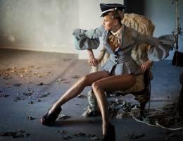 复古奢华的时尚摄影《Drama》