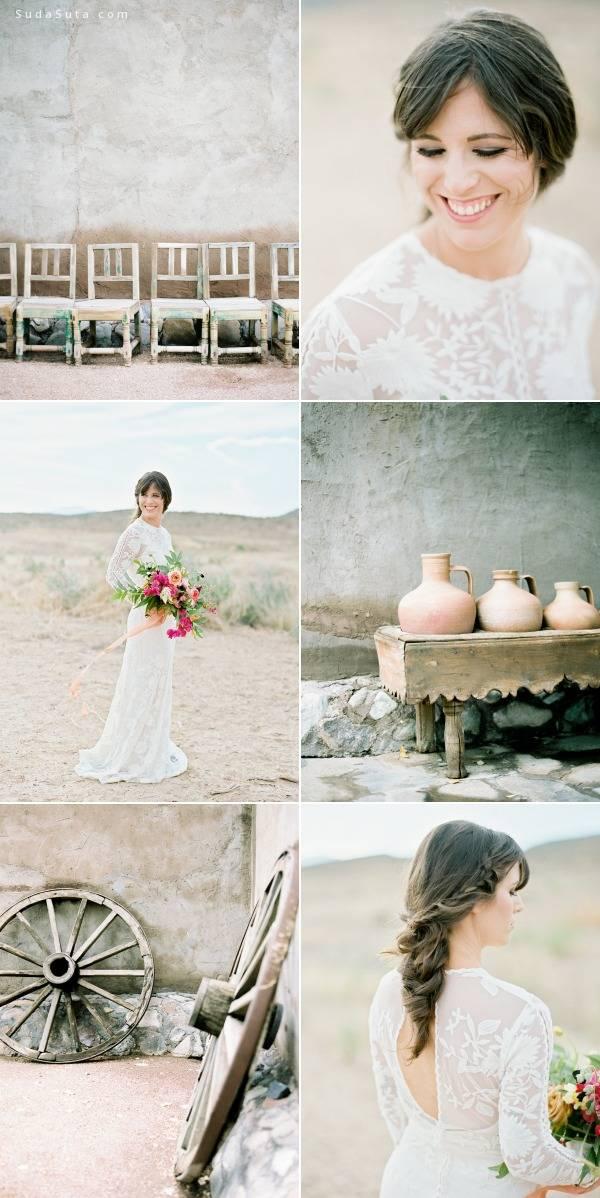 清新安静的婚纱摄影欣赏