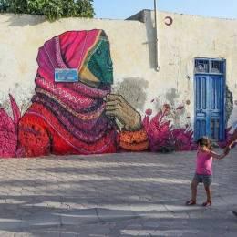 Djerbahood 美妙的街头艺术