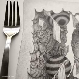 Anton Vill 细腻的手绘插画欣赏