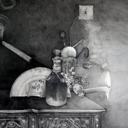 Dane Patterson 黑白抽象手绘艺术