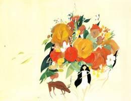 Jon Lau柔暖静好的水粉插画欣赏