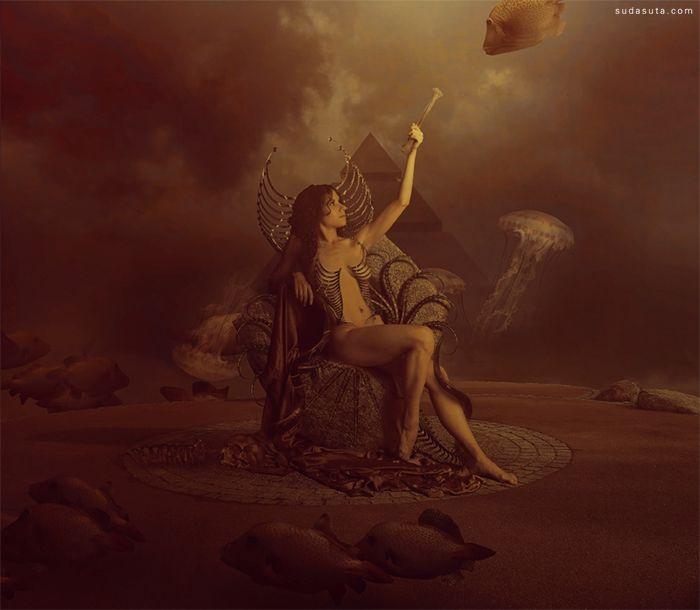 AmandineVanRay 生命的姿态 超现实主义艺术作品欣赏