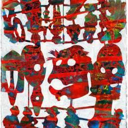 Bo Joseph 抽象手绘艺术欣赏