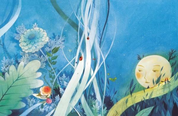 Chun Eun Sil宫崎骏式的童话插画欣赏