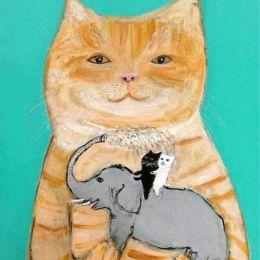 Pepe Shimada 可爱简约的动物手绘插画