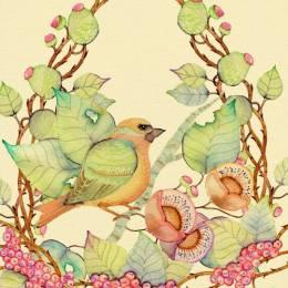 Colleen Parker的春季风光插画