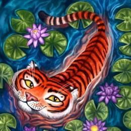 Felicia Cano 异域风格的手绘插画作品欣赏