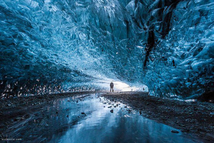 Julien Ratel 冰晶洞穴 旅行摄影作品欣赏
