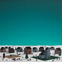 Lars Daniel Rehn 安静的抽象插画欣赏