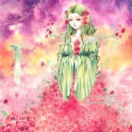 Scarlett-Aimpyh 女神传说 手绘水彩漫画欣赏