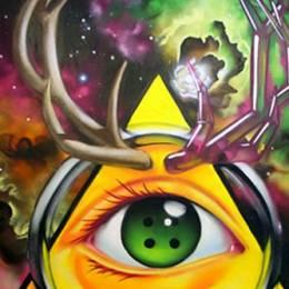 漢堡店的神秘涂鸦 thespotgraffiti雾点涂鸦作品欣赏