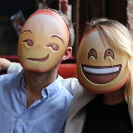 幽默生活 可爱的情绪面具
