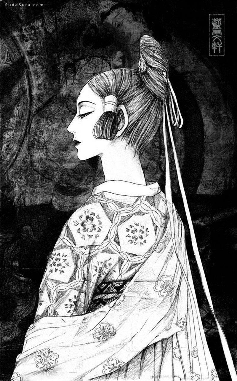 蓝雯轩 用画笔寻梦