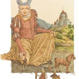 Lev Kaplan 格林童话插图欣赏