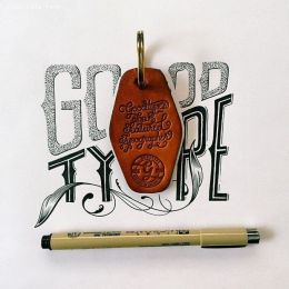 Raul Alejandro 细腻的花体字设计欣赏