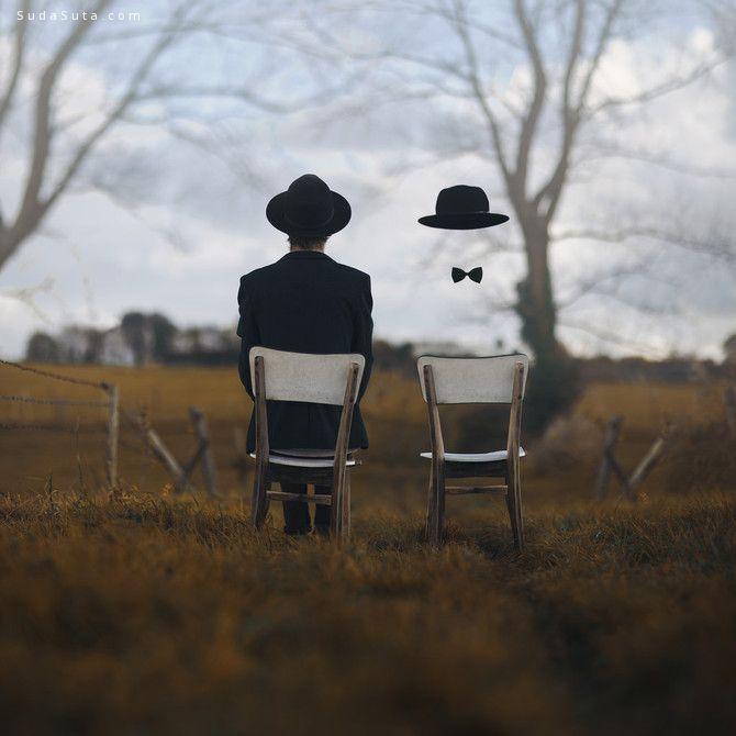 Vincent Bourilhon 忧郁的大叔 超现实主义人像摄影欣赏