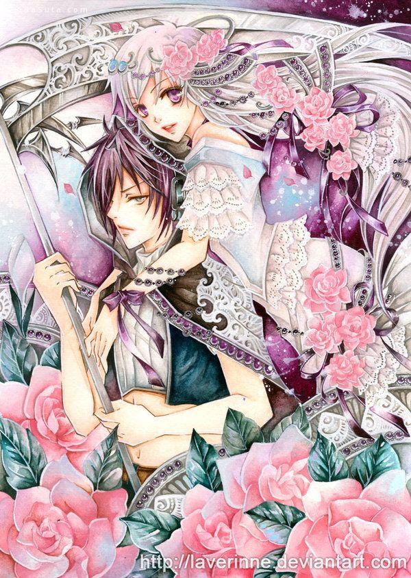 laverinne 细腻华丽的手绘少女漫画欣赏