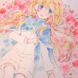 PastelCake 清新手绘水彩插画欣赏