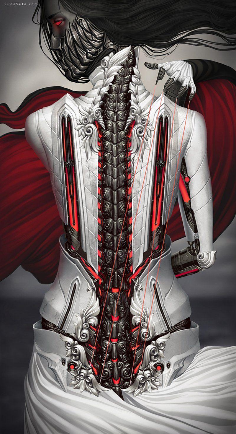 Alexander Fedosov 机械与金属 概念插画欣赏