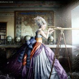 Alexia Sinclair 洛可可风时尚摄影欣赏