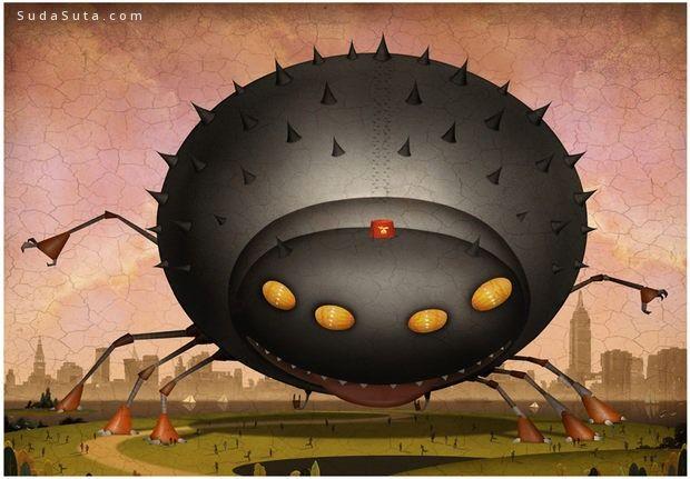 Bill Mayer 可爱的卡通造型设计欣赏