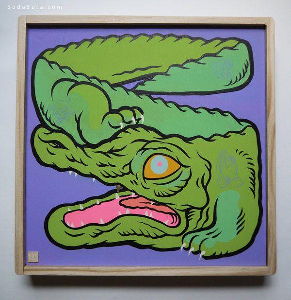 Boy Kong 艺术作品欣赏