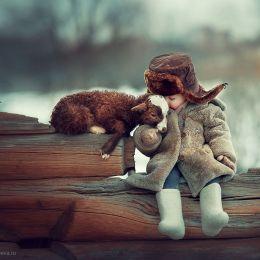 Elena Shumilova 动物与少年 儿童摄影欣赏
