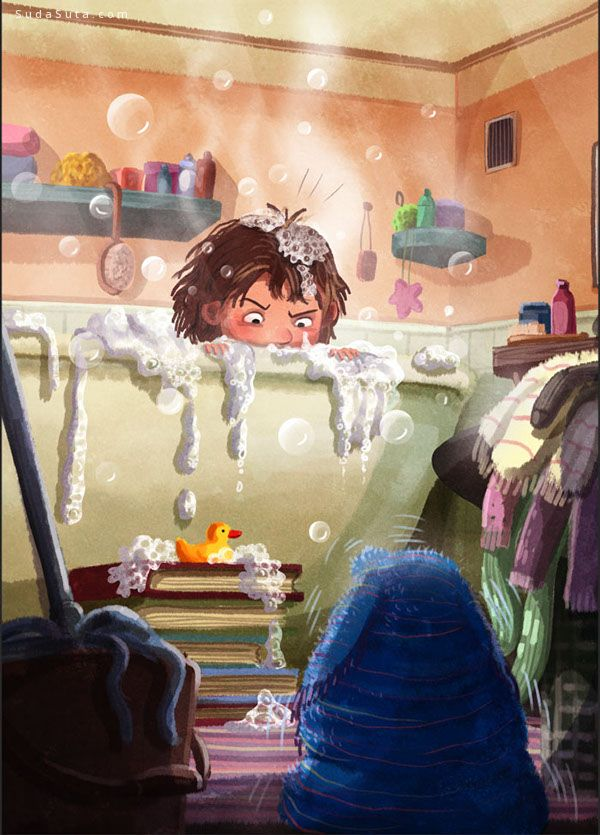 《Ręcznikowiec》儿童插画欣赏