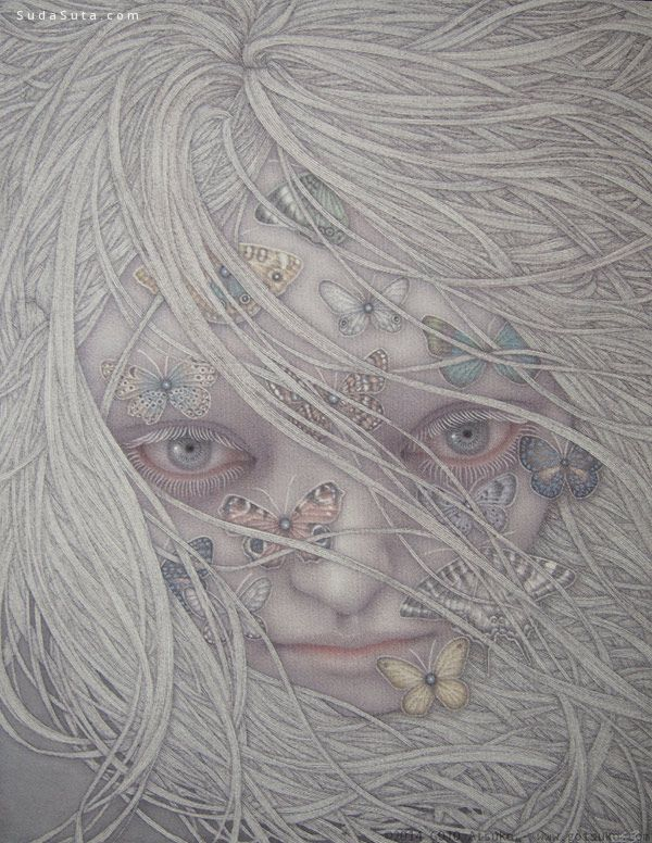 Goto Atsuko 空灵的个性插画欣赏