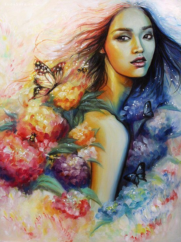 HuanLe 传统手绘艺术欣赏