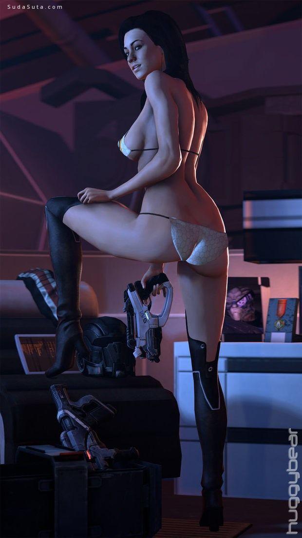 HuggyBear742 性感的3D游戏造型设计欣赏