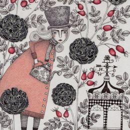 Judith Clay 细腻的装饰插画欣赏