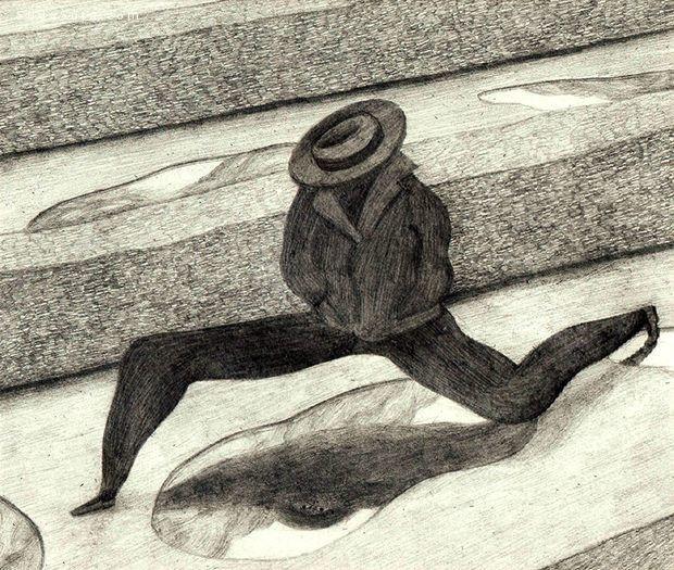 Juliette Barbanègre 梦魇般的手绘插画欣赏