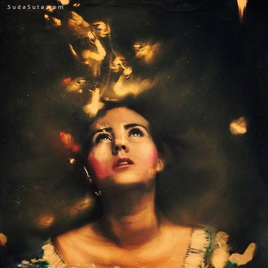 Lana Tustich 魔法世界 照片合成作品欣赏