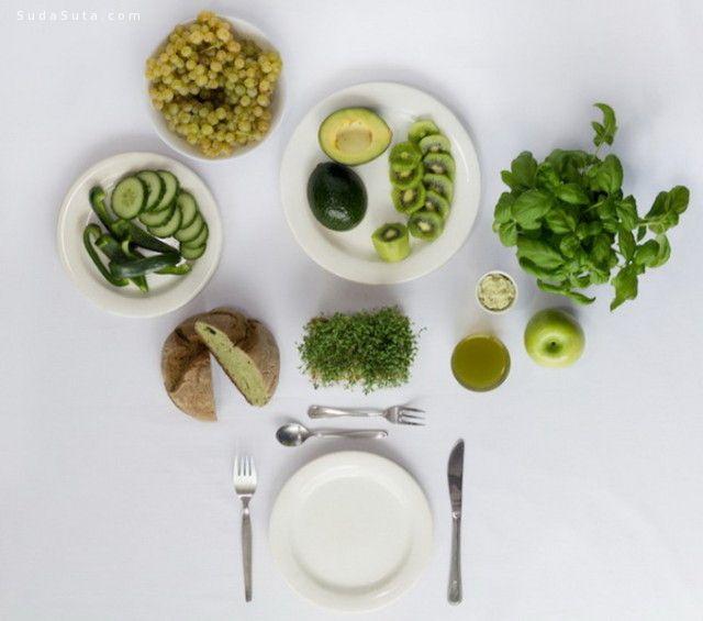 Fabienne Plangger 单色早餐 美食摄影欣赏