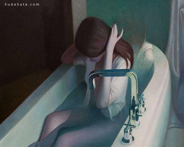 Peter Chan 绘画作品《迷魂药》