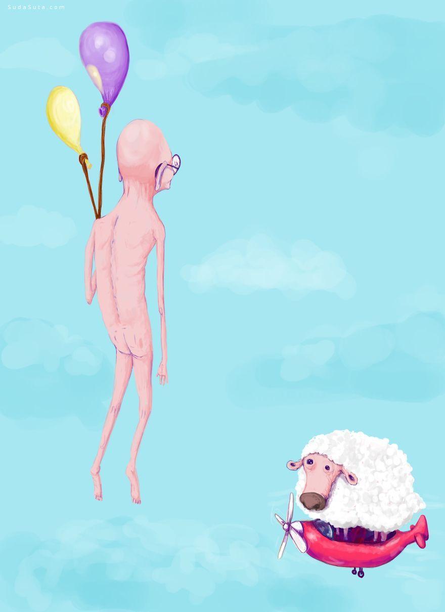 SirChild 我的世界 个性插画欣赏